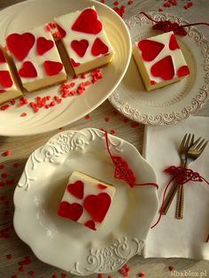 Be My Valentine, Diy Food, Delicious Desserts, Panna Cotta, Food And Drink, Cooking Recipes, Pudding, Sweets, Cookies