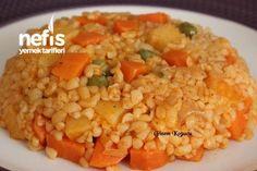 Tereyağlı Sebzeli Bulgur Pilavı