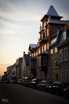 Magic hour in Old Quebec