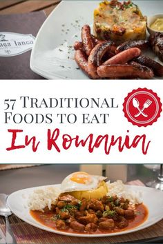 57 Romanian Dishes, Delicacies, Drinks & Desserts What is Traditional Romanian Food? We explore 57 traditional Romanian Dishes: What to eat in Romania & Bucharest + Romanian delicacies & Romanian Desserts Sicilian Recipes, Turkish Recipes, Greek Recipes, Eastern European Recipes, European Cuisine, 21 Day Fix, Romanian Food Traditional, Romanian Desserts, Romanian Recipes