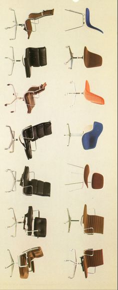 Authentic #Eames designs produced under the supervision of @vitra Chairman Emeritus Rolf Fehlbaum in 1973 @vitrahaus