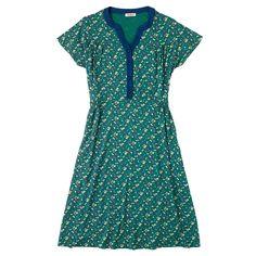 Bath Flowers Button Font Jersey Dress | New Arrivals | CathKidston