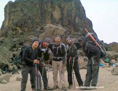 2nd October 2013: A tough climb up to Lava tower with Private Expeditions!