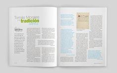 Diseño editorial. Revista Letras Canarias. Fragmentos de Tomás Morales en artículo de Antonio Becerra #sergiohp #revista #diseñoeditorial www.sergiohp.com