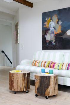 stump side table / Sofabord du kan lage selv