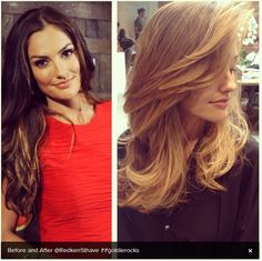 "Minka Kelly goes ""goldie"" blonde for the summer: really cute or really unfortunate?"