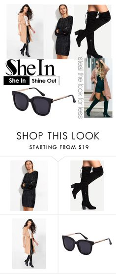 """shein"" by michelle-arnott-sowers on Polyvore featuring Boohoo"