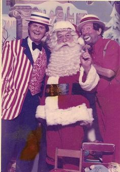 Just wanted to share this photo from long ago.  It's me (as Arte Williams), Santa (as Himself) and Happy Kellems (also as Himself). The photo was taken near the end of the season 1973.