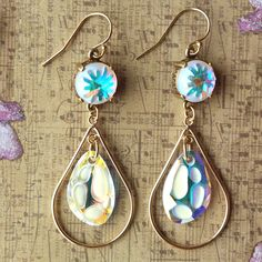 Down by the Sea Shore Earring Tutorial | Jewelry Design Ideas | www.rings-things.com