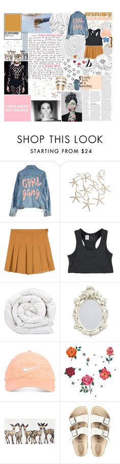 """☾ i want to be known by you"" by thundxrstorms ❤ liked on Polyvore featuring High Heels Suicide, Coolmax, Brinkhaus, Nike Golf, DOMESTIC, Birkenstock and Mother"