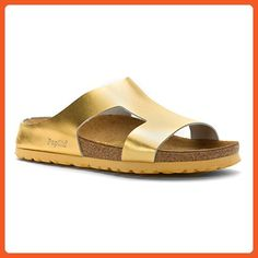 Factory Direct Selling Price Objective Woman's Dansko Tan Leather Comfort Sandals Slides 39 8.5