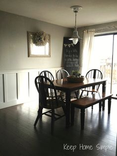 Split level remodel open floor plan for the home for Fixer upper does the furniture stay