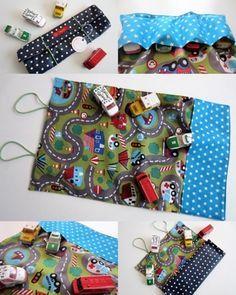 Autos - E-BOOK - FLITZI- Autotasche - Spielteppich to GO - ein Designerstück von -Naschl- bei DaWanda