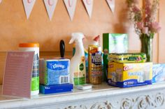 Bridal Shower Game- The Price is Right- have guests guess the price of 15 everyday purchases...the person who guesses the closest wins (from Pretty Pink Bridal Shower | Annies Eats by annieseats, via Flickr)