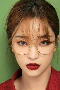 Ideas for makeup korean glasses – Brille Make-up Korean Makeup Look, Korean Makeup Tips, Korean Makeup Tutorials, Asian Makeup, Korean Beauty, Beauty Makeup, Eye Makeup, Hair Makeup, Hair Beauty