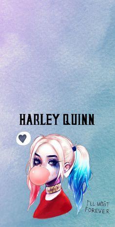 Harley quinn wallpaper and lock screen Harley Quinn Et Le Joker, Harley Quinn Tattoo, Harley Quinn Halloween, Harley Quinn Drawing, Margot Robbie Harley Quinn, Harley Quinn Cosplay, Maquillaje Harley Quinn, Hatley Quinn, Harley Quinn Disfraz