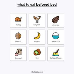 Here's What To Eat (And Drink) Before Bed For Better Sleep what to eat before bed – infographic Healthy Bedtime Snacks, Foods For Healthy Skin, Healthy Food, Healthy Breakfasts, Healthy Drinks, Eating Healthy, Clean Eating, Eating Before Sleeping, Eating Before Bed