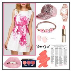 """""""Rosegal #33"""" by miranda-993 ❤ liked on Polyvore featuring Obsessive Compulsive Cosmetics and Vapour"""