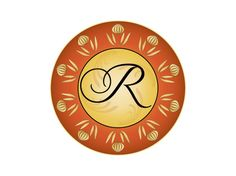 Monogram R  A letter R in a fancy script style. The font, letter choice or colors can be changed to suit your needs.There are many more monograms to choose from  on http://www.boxedbrands.com