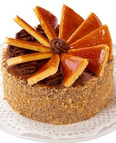 A Deliciously sweet recipe for Chocolate cake with caramel filling. Chocolate Cake with Caramel Filling Recipe from Grandmothers Kitchen. Sweet Recipes, Cake Recipes, Dessert Recipes, Caramel Filling Recipe, Food Cakes, Cupcake Cakes, Chocolate Caramel Cake, Chocolate Cream, Cake Stock