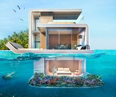 Seahorse Floating House