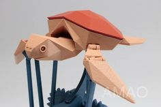 When the film spreads through the webs, it shows that a plastic straw pulled out from the poor turtle's nostrils, which used its misfortune to sl Useful 3d Prints, Origami Turtle, Marine Debris, Turtle Swimming, Automata, Make A Donation, Under The Sea, Design Process, Science And Technology