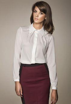 Eleganckie bluzki koszulowe do pracy http://lucystyle.pl/o-mnie/