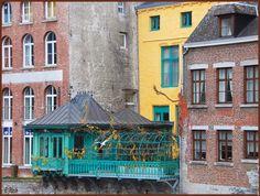 Logia sur Sambre (river) ~ Namur, Belgium