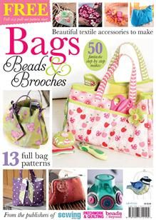 The Bags, Beads and Brooches bookazine includes all photo step-by-step projects on how to create fabric and textile accessories, predominantly featuring a range of hand-made bags, brooches and fabric jewellery.Trapletshop | Bags, Beads & Brooches