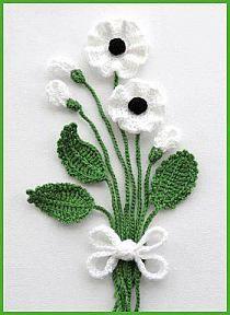 kwiaty na szydełku na Stylowi.pl                                                                                                                                                                                 Mais