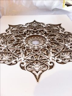 Laser Cutting Cardboard for AMAZING school project. Laser Art, Laser Cut Wood, Laser Cutting, Geometric Sculpture, Geometric Art, Laser Cutter Projects, Wooden Wall Art, Wood Art, Chip Carving