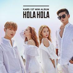 East Asia Addict: [CD] K.A.R.D - Hola Hola (1st Mini Album)