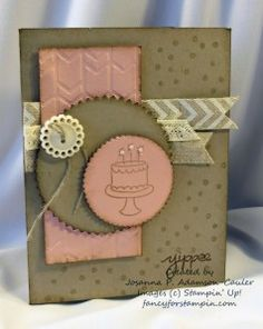 Stampin' Up! Endless Birthday Wishes http://fancyforstampin.com/2014/06/12/i-was-a-stand-up-comic/