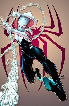 #Spider #Gwen #Fan #Art. (Spider Gwen) By: Alonso Espinoza. ÅWESOMENESS!!!™