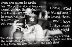 My review on The Book Thief by Markus Zusak and my some of my favorite quotes! :D