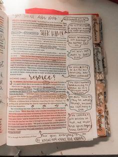 instagram : @anniemarieplease Bible Notes, My Bible, Bible Art, Bible Study Journal, Scripture Study, Devotional Journal, Bible Verses Quotes, Bible Scriptures, Bibel Journal