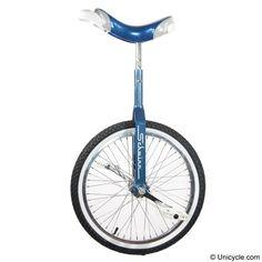 "#Schwinn 20"" Retro Blue #Unicycle - White walls, baby! $160.00"