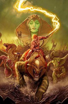 He-Man and The Masters of The Universe, conocida como He-Man y los Amos del Universo en Latinoamérica y He-Man y los Masters del Universo en España, es una serie de televisión animada estadounidense producida por Filmation basado en línea de...