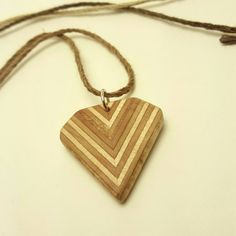 Check out this item in my Etsy shop https://www.etsy.com/listing/469119034/wood-pendant-natural