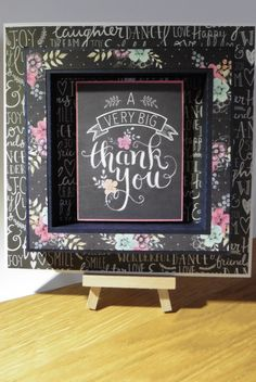 Featuring Craftwork Cards Chalkboard collection