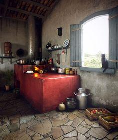 Formosa Casa: Cozinha Tipo Mineira!