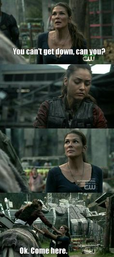 """#The100 3x01 """"Wanheda: Part One"""""""