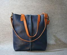 bolso de cuero bolso de cuero hecho a mano bolso de por AlmaMilano