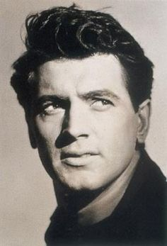 Rock Hudson  Probably on of the best-looking leading men EVER!! Yes, ever!    Who knew?!... Still GORGEOUS in my eyes!