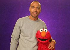 Jesse Williams guest stars on 'Sesame Street' to teach kids the word 'furious' — VIDEO | EW.com