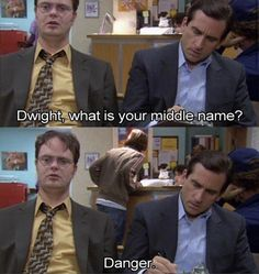 The Office - Quotes - The Injury - Dwight Danger Shrute Best Tv Shows, Best Shows Ever, Favorite Tv Shows, Favorite Things, Tv Quotes, Movie Quotes, Movie Memes, Funny Memes, Random Quotes