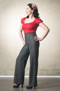 Gracy Q -- more at --> http://pinup-fashion.de/8232/gracy-q-elegante-vintage-mode-leipzig/