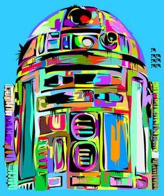 geek art, color, starwar, fire art, comic books, street art, star wars, print, man caves