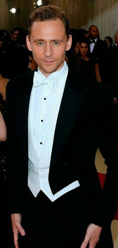 Tom in a tux...good heavens...
