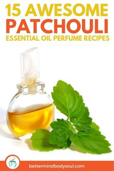 A helpful guide of recipes to make your own DIY patchouli perfume right at home and avoid the chemicals of other brands. Homemade Essential Oils, Patchouli Essential Oil, Essential Oil Perfume, Essential Oil Uses, Perfume Oils, Parfum Patchouli, Homemade Perfume, Perfume Recipes, Homemade Beauty